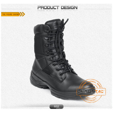 Tactical Boots of Waterproof Nylon and Cowhide Leather/Anti-Slip and Anti-Abrasion