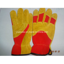 Leather Glove-Work Glove-Mechanic Glove-Industrial Glove-Gloves-Industrial Glove-Cheap Glove