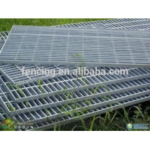 стальные решетки\горячего погружения Гальванизированная стальная решетка по низким ценам