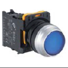 Interrupteur à bouton-poussoir plat haut de 22mm avec certification Ce