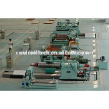 0,3-3mm coupe à la ligne de longueur pour les bobines d'acier laminées à froid