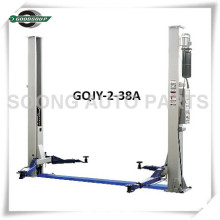 Two Post Lift GQJY-2-38A Car Lift Two Cylinder Driving System Double Safety Locks