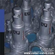 Válvula de alivio de seguridad roscada convencional / NPT Cl150xcl300 de apertura completa