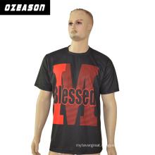 Ozeason Custom Plain Sublimation Polyester T-Shirt