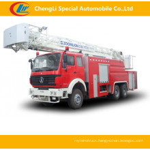 North Benz 6*4 Fire Pump Truck Fire Fighting Truck