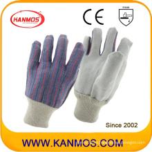 Cuero de vaca más barato cuero dividido mano industrial guantes de trabajo (110201)