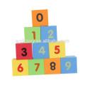 39pcs wholesale Children plastic number building block