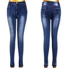 Очень горячая девушка сломанной эффект джинсы