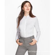 Women′s Bell Sleeve Striped Shirt