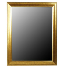 Golden Top Grade Mirror Frame In 30x40cm