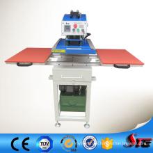 CE aprovado 40X40cm óleo hidráulico duplo estação T camisa imprensa do calor