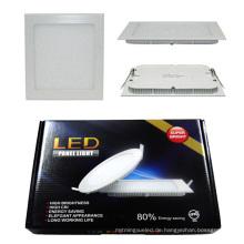 12W / 15W / 18W / 24W RGBW Farbe Dimmable LED Licht Panel