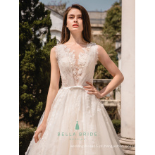 Vestidos de noiva de noiva de princesa branca vestidos de noiva Vestidos de casamento de alibaba de vestidos de casamento brilhantes de China