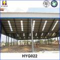 Almacén de cubierta metálica prefabricada low cost