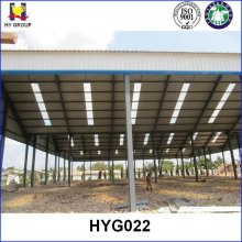 African Low Cost Prefab steel structure warehouse