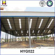 Prefabricated steel structure small factory building