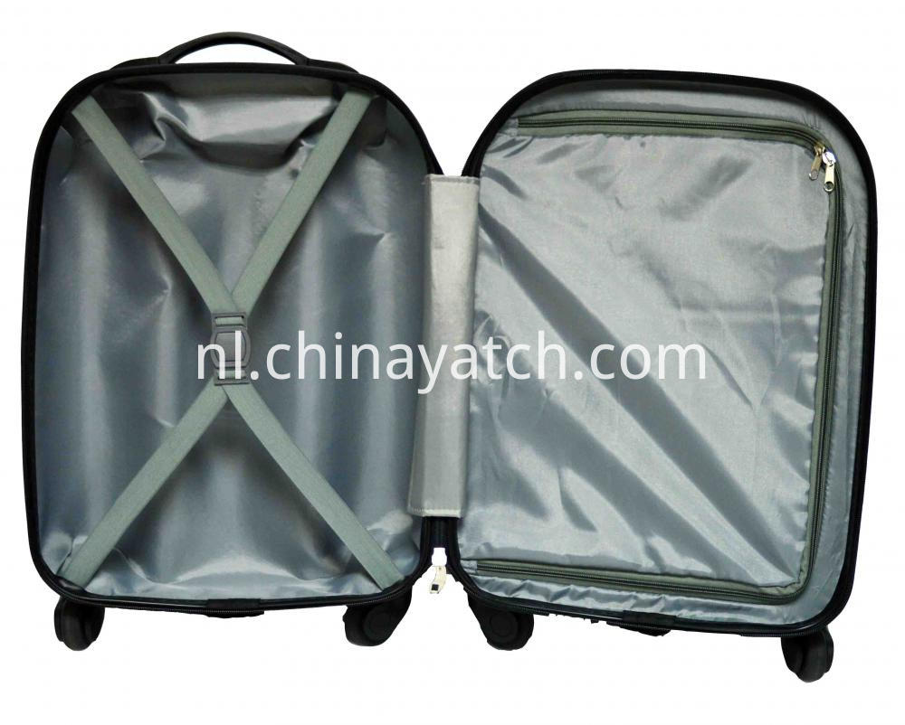 100%PC High Quality Rolling Trolley Set