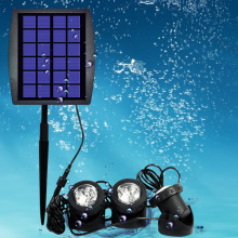 Purchasing for Solar Underwater Led Light Outdoor Solar Lamp with waterproof export to Poland Factories