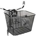 Metal Wire Mesh Bike Basket For Bikes