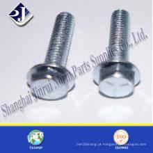 Alloy Steel Zinc Plated Flange parafuso para automóvel (DIN6921)
