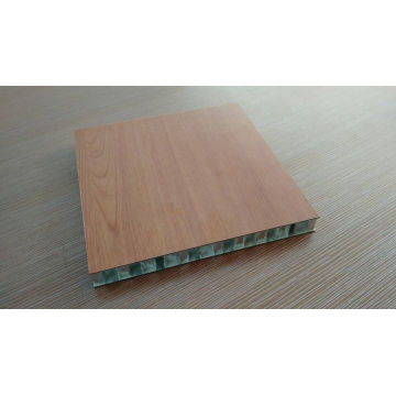 Wood Like Aluminum Honeycomb Panels for Furniture
