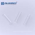 China fabricante 6 milímetros de vidro transparente base plana micro inserção para frasco de 9-425