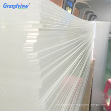 4 ft x 8 ft high glossy solid surface thin Cast clear acrylic sheets