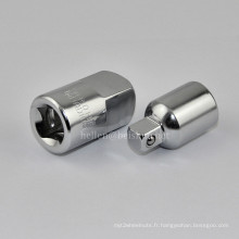 1 / 4f X 3 / 8m Adaptateur d'armoire à air charpentier pour poignées à cliquet