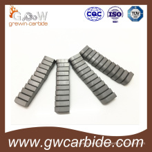 Tungsten Carbide Brazed Tips Use for Machine