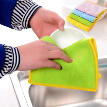 absorbent kitchen cleaning cloth dish towel wholesale