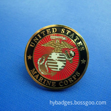 USA Marine Corps Badges, Metal Lapel Pin (GZHY-LP-027)