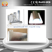 alu pet pe film for roof insulation materials