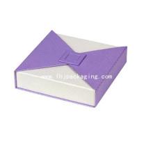 Boîte d'emballage en papier de qualité supérieure de qualité supérieure avec fermeture magnétique