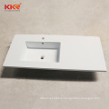 Corians Price Laundry Commercial One Piece Bathroom Sink Countertop Wash Cabinet Basin KKR-1526