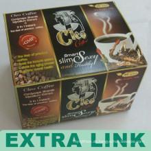 China-Lieferant-neuer erstklassiger faltbarer Papierkaffeekapsel-Kasten