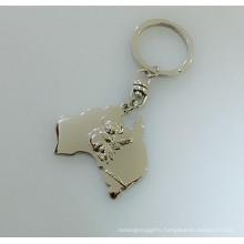 Koala Souvenir Gift Tour Promotional Metal Australia Key Ring (F1397)