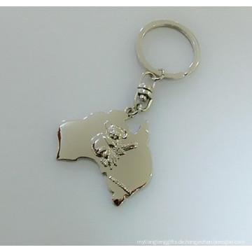 Australien-Andenken-Förderung-Gravur-Logo-Metall-Koala Keychain (F1397)