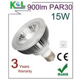 15W Aluminum Sharp COB LED PAR30 E27 LED BULB