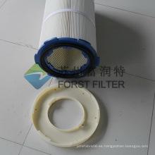 FORST Filtro de polvo de elemento cilíndrico de cubierta