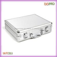 Tamanho pequeno cor de alumínio caixa de ferramentas de alumínio (satc013)