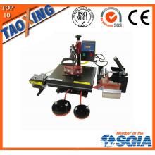 Hecho en fábrica de China precio más bajo QX-AA1 máquina de la transferencia de calor para el paño y la superficie plana