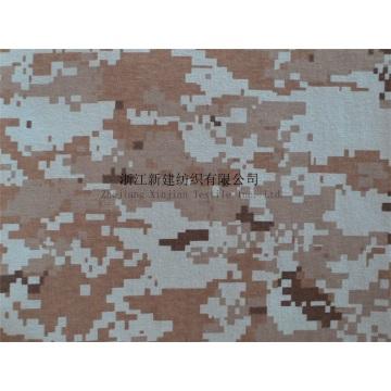 Tissu de camouflage tricoté 100% coton