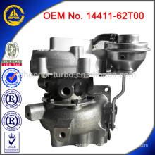 Chargeur turbo 14411-09D60 pour moteur Nissan TD42T