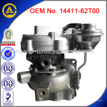 Turbocharger 14411-62T00 for Nissan