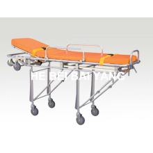 (B-21) Aluminum Alloy Stretcher Trolley with ISO9001, ISO13485, CE