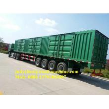 3 Axle 40T / 60T Cargo Box Van نصف مقطورة