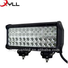 Feixe de ponto 4x4 de Lightbar 10080LM do trabalho do diodo emissor de luz de 12inch 144W que conduz 4 linhas Lightroad Offroad