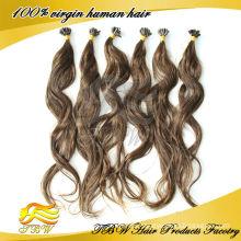 Fashion brazilian prebonded hair / U tip hair extension,keratin hair