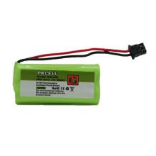 Bateria recarregável 600mAh de 2.4V AAA Ni-MH para o telefone sem corda