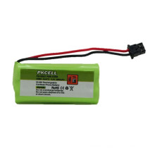 2.4 в AAA аккумулятор Ni-MH аккумуляторная батарея 600mah для бесшнурового телефона